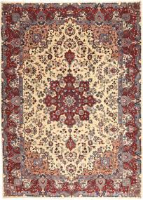 Kashmar Patina Tæppe 250X340 Ægte Orientalsk Håndknyttet Mørkerød/Beige Stort (Uld, Persien/Iran)