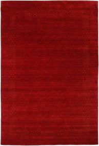 Loribaf Loom Beta - Rød Tæppe 190X290 Moderne Mørkerød/Rust (Uld, Indien)