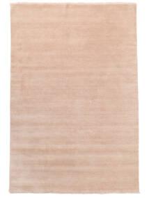 Handloom Fringes - Blød Rose Tæppe 200X300 Moderne Lyserød/Beige (Uld, Indien)