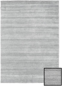 Bambus Grass - Grå Tæppe 160X230 Moderne Lysegrå (Uld/Bambus Silke, Tyrkiet)