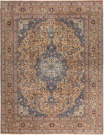 Keshan Patina Tæppe 292X385 Ægte Orientalsk Håndknyttet Mørkebrun/Mørkerød Stort (Uld, Persien/Iran)