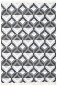 Aino Tæppe 160X230 Ægte Moderne Håndvævet Lyseblå/Hvid/Creme (Uld/Bambus Silke, Indien)