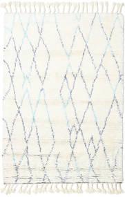 Rana - Natural/Blå Tæppe 160X230 Ægte Moderne Håndknyttet Beige/Hvid/Creme (Uld, Indien)