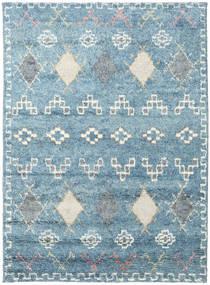 Zaurac - Blå Grå Tæppe 170X240 Ægte Moderne Håndknyttet Lyseblå/Beige (Uld, Indien)