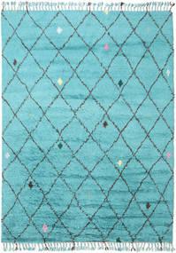 Alta - Turquoise Tæppe 200X300 Ægte Moderne Håndknyttet Lyseblå/Turkis Blå (Uld, Indien)