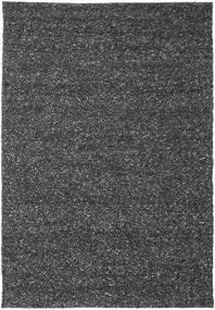 Bubbles - Melange Sort Tæppe 250X350 Moderne Mørkegrå Stort (Uld, Indien)
