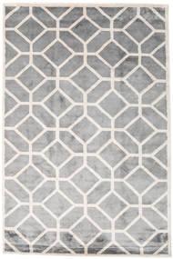 Palace Tæppe 200X300 Ægte Moderne Håndknyttet Lysegrå/Hvid/Creme ( Indien)