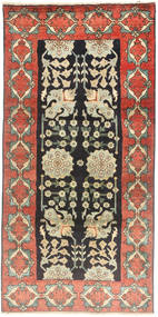 Tabriz Tæppe 100X207 Ægte Orientalsk Håndknyttet (Uld, Persien/Iran)