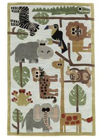 Zoo Handtufted Tæppe 170X240 Moderne Lysegrå/Lyseblå (Uld, Indien)