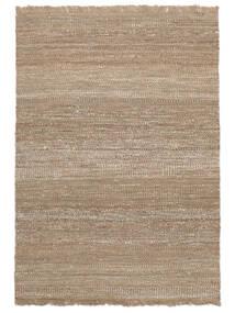Udendørs Tæppe Sahara Jute Tæppe 170X240 Ægte Moderne Håndvævet Lysegrå/Beige (Jutetæppe Indien)
