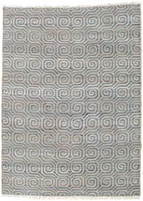 Udendørs Tæppe Thar Jute Tæppe 170X240 Ægte Moderne Håndvævet Lysegrå/Blå (Jutetæppe Indien)