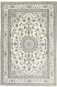 Nain Tæppe 195X300 Ægte Orientalsk Håndknyttet Beige/Lysegrå/Mørkegrå (Uld, Persien/Iran)