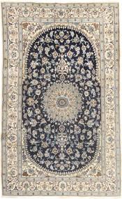 Nain Tæppe 185X310 Ægte Orientalsk Håndknyttet Lysegrå/Mørkegrå (Uld, Persien/Iran)