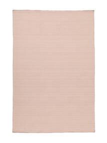 Kelim Loom - Diset Rosa Tæppe 160X230 Ægte Moderne Håndvævet Lyserød (Uld, Indien)
