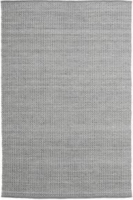 Alva - Mørkegrå/Hvid Tæppe 200X300 Ægte Moderne Håndvævet Lysegrå/Mørkegrå (Uld, Indien)
