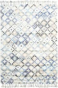 Greta Tæppe 160X230 Ægte Moderne Håndknyttet Hvid/Creme/Beige (Uld, Indien)