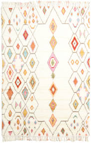Hulda Tæppe 200X300 Ægte Moderne Håndknyttet Beige/Hvid/Creme (Uld, Indien)