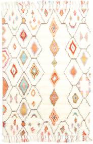 Hulda Tæppe 120X180 Ægte Moderne Håndknyttet Beige/Hvid/Creme (Uld, Indien)