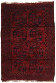 Afghan Khal Mohammadi Tæppe 120X173 Ægte Orientalsk Håndknyttet Mørkerød (Uld, Afghanistan)