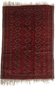 Afghan Khal Mohammadi Tæppe 123X177 Ægte Orientalsk Håndknyttet Mørkerød (Uld, Afghanistan)
