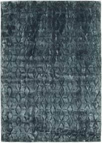 Diamond - Dark_Teal Tæppe 140X200 Moderne Blå/Mørkeblå ( Indien)