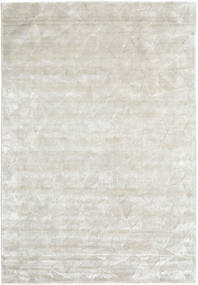 Crystal - Sølvhvide Tæppe 160X230 Moderne Mørk Beige/Lysegrå ( Indien)
