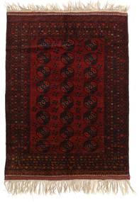 Afghan Khal Mohammadi Tæppe 150X196 Ægte Orientalsk Håndknyttet Mørkebrun/Mørkerød (Uld, Afghanistan)