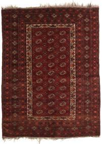Afghan Khal Mohammadi Tæppe 137X181 Ægte Orientalsk Håndknyttet Mørkerød/Mørkebrun (Uld, Afghanistan)