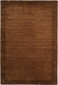 Handloom Frame - Brun Tæppe 200X300 Moderne Brun (Uld, Indien)