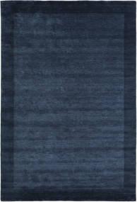 Handloom Frame - Mørkeblå Tæppe 200X300 Moderne Mørkeblå/Blå (Uld, Indien)