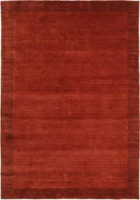 Handloom Frame - Rust Tæppe 160X230 Moderne Rust/Rød (Uld, Indien)