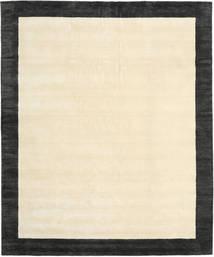 Handloom Frame - Sort/Hvid Tæppe 250X300 Moderne Beige/Mørkegrå Stort (Uld, Indien)
