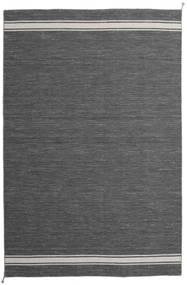 Ernst - Mørkegrå/Lysebeige Tæppe 200X300 Ægte Moderne Håndvævet Mørkegrå/Mørkebrun (Uld, Indien)