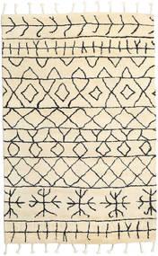 Moss Berber - Natural Tæppe 180X275 Ægte Moderne Håndknyttet Beige (Uld, Indien)