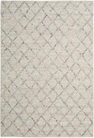 Rut - Sølv/Grå Melange Tæppe 200X300 Ægte Moderne Håndvævet Lysegrå/Mørk Beige (Uld, Indien)