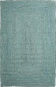 Udendørs Tæppe Frida Color - Turquoise Tæppe 200X300 Ægte Moderne Håndvævet Turkis Blå/Turkis Blå/Pastel Grøn (Jutetæppe Indien)