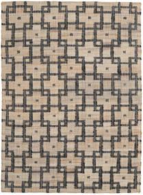 Udendørs Tæppe Tudor Tæppe 160X230 Ægte Moderne Håndvævet Lysegrå/Mørkegrå (Jutetæppe Indien)