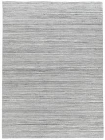Udendørs Tæppe Petra - Light_Mix Tæppe 140X200 Ægte Moderne Håndvævet Lysegrå/Hvid/Creme ( Indien)