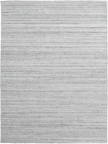 Petra - Light_Mix Tæppe 200X300 Ægte Moderne Håndvævet Lysegrå/Hvid/Creme ( Indien)