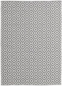 Torun - Grå/Neutral Tæppe 170X240 Ægte Moderne Håndvævet Lyslilla/Lysegrå (Bomuld, Indien)