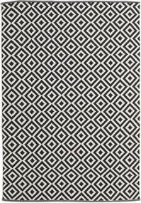 Torun - Sort/Neutral Tæppe 170X240 Ægte Moderne Håndvævet Sort/Mørk Beige (Bomuld, Indien)