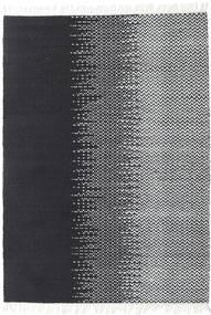 Udendørs Tæppe Sixten Tæppe 140X200 Ægte Moderne Håndvævet Mørkegrå/Hvid/Creme ( Indien)