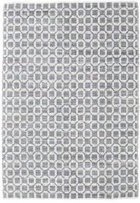 Elna - Grå Tæppe 200X300 Ægte Moderne Håndvævet Lysegrå/Hvid/Creme (Bomuld, Indien)