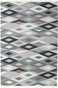 Zimba - Grå Tæppe 200X300 Ægte Moderne Håndvævet Lysegrå/Hvid/Creme (Uld, Indien)