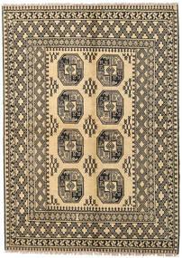 Afghan Tæppe 170X230 Ægte Orientalsk Håndknyttet Mørk Beige/Lysebrun (Uld, Afghanistan)