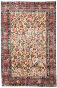 Mashad Patina Tæppe 185X285 Ægte Orientalsk Håndknyttet Lysebrun/Mørkegrå (Uld, Persien/Iran)