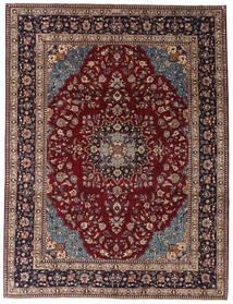 Kashmar Patina Tæppe 254X335 Ægte Orientalsk Håndknyttet Mørkerød/Mørkebrun Stort (Uld, Persien/Iran)
