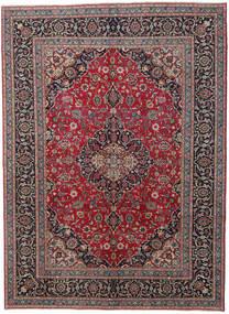 Kashmar Patina Tæppe 242X330 Ægte Orientalsk Håndknyttet Sort/Lysegrå (Uld, Persien/Iran)