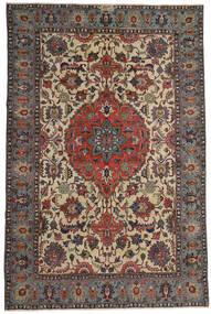 Ardebil Patina Tæppe 195X300 Ægte Orientalsk Håndknyttet Mørkebrun/Lysebrun (Uld, Persien/Iran)