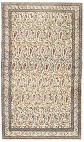 Kerman Patina Tæppe 85X147 Ægte Orientalsk Håndknyttet Beige/Lysegrå (Uld, Persien/Iran)